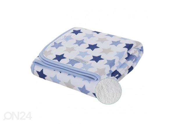 Lasten täkki MIXED STARS BLUE 110x140 cm