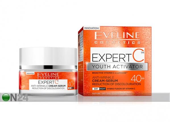 Expert C kasvovoide-seerumi 40+ Eveline Cosmetics 50ml