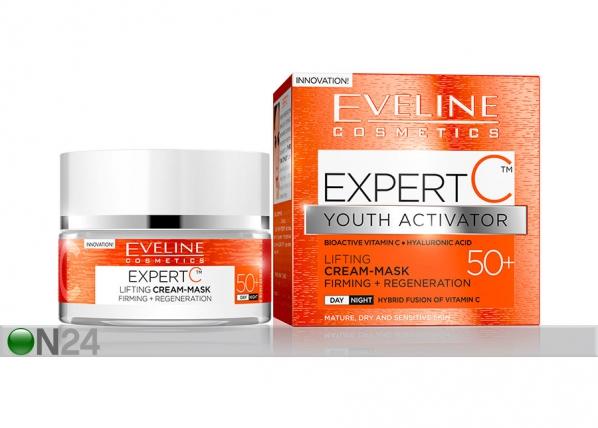 Expert C kasvovoide-naamio 50+ Eveline Cosmetics 50ml