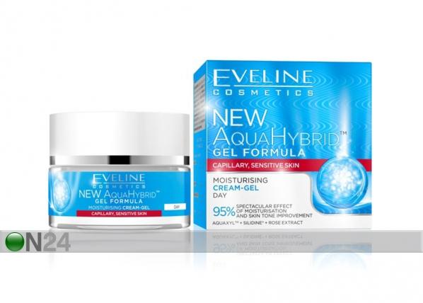New Aqua Hybrid kosteuttava päivävoide-geeli Eveline Cosmetics 50ml
