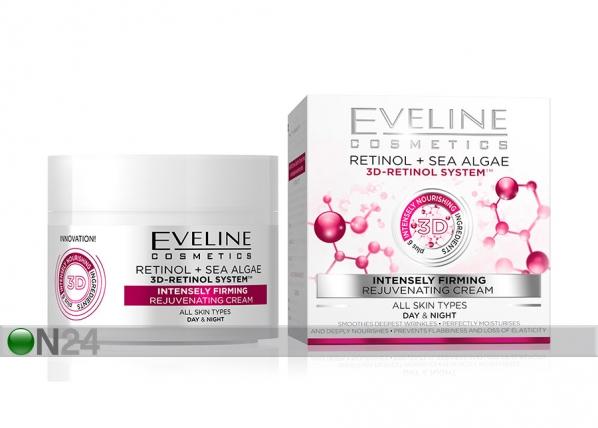 Nature Line kasvovoide 3D-retinolilla Eveline Cosmetics 50ml