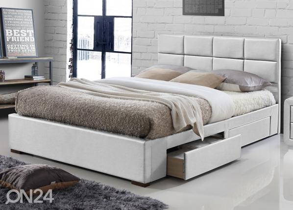 Sänky laatikoilla 160x200 cm