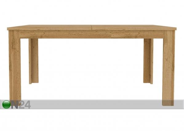 Jatkettava ruokapöytä 90x162-230 cm