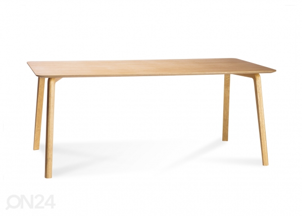 Ruokapöytä MILONGA 180x90 cm (tumma tammi)