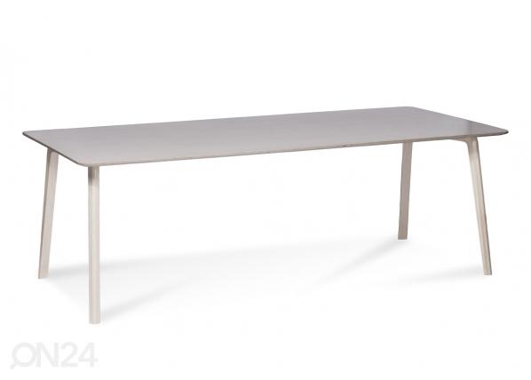 Ruokapöytä MILONGA 180x90 cm (petsattu koivu)