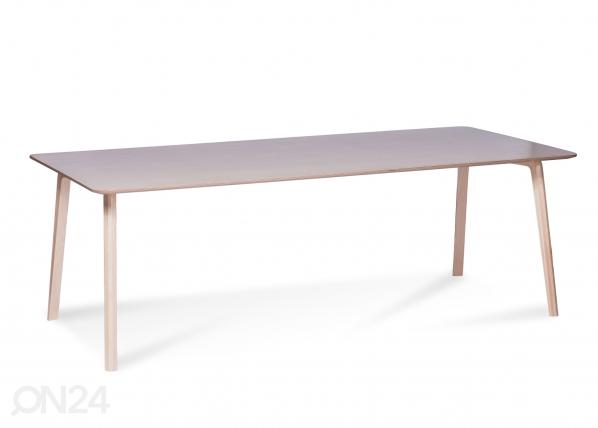 Ruokapöytä MILONGA 220x90 cm (luonnollinen koivu)