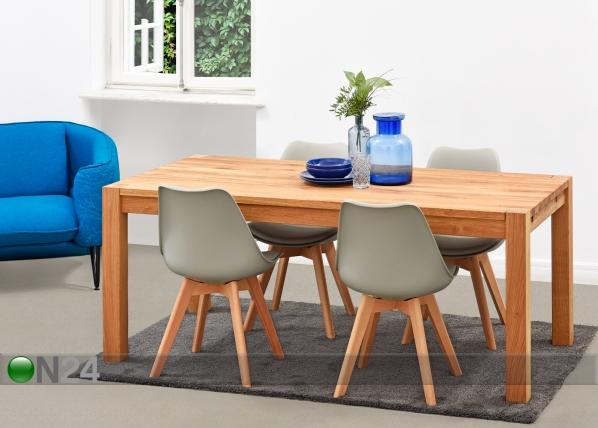 Ruokapöytä MATILDA 200×100 cm