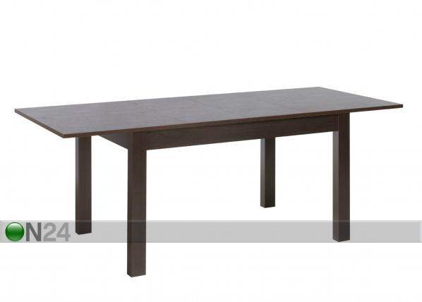 Jatkettava ruokapöytä 90x136-210 cm