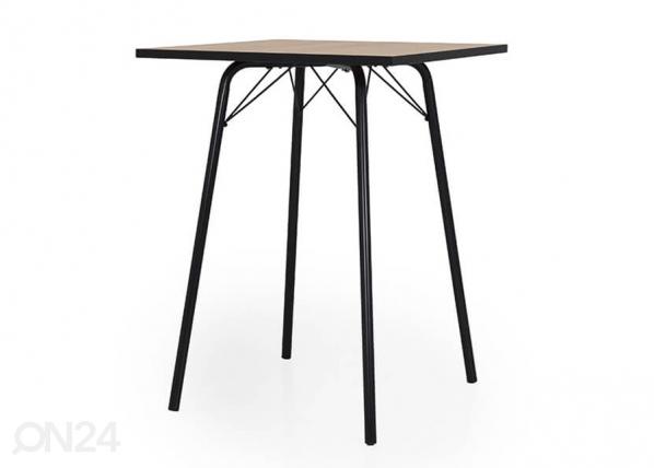 Baaripöytä FLOW 80x80 cm