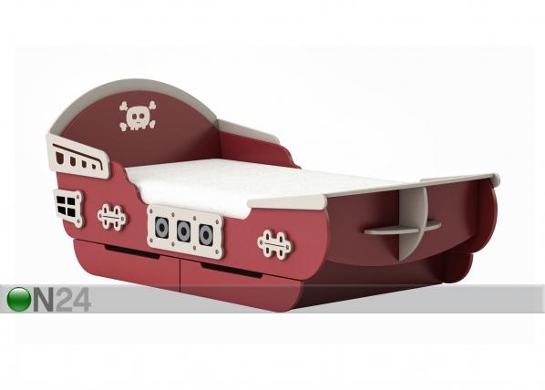 Lasten sänky CAPTAIN 90×200 cm