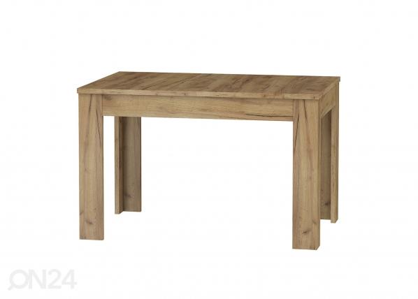 Jatkettava ruokapöytä 120-160x80 cm