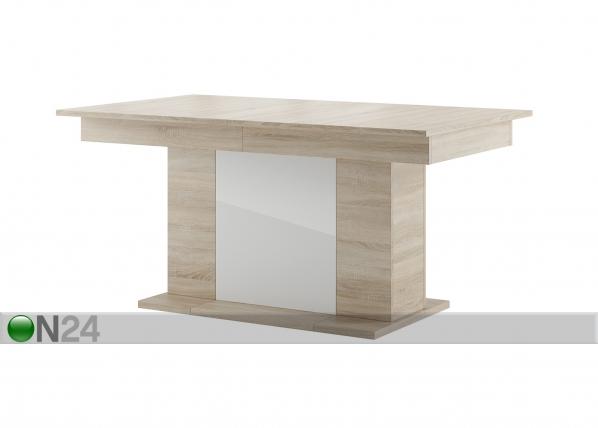 Jatkettava ruokapöytä 90x160-410 cm
