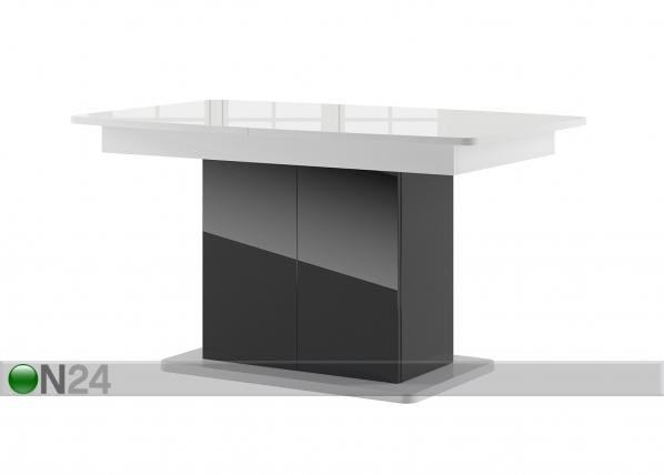 Jatkettava ruokapöytä 85x140-210 cm