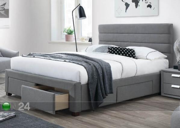 Sänky vuodevaatelaatikolla KAYLEON 160x200 cm