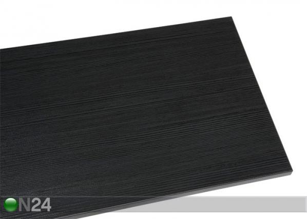 Kansilevy BLACK 126×38 cm
