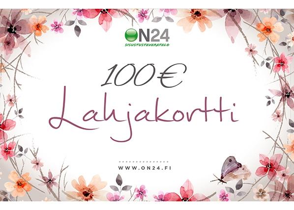 Lahjakortti Naiselle ja äidille 100 €