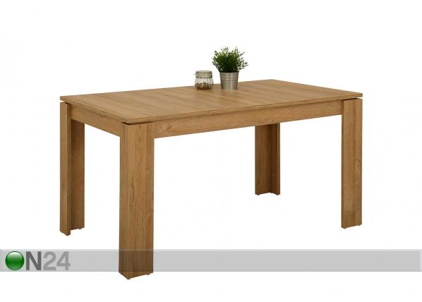 Jatkettava ruokapöytä ALEXA I 80x140-180 cm