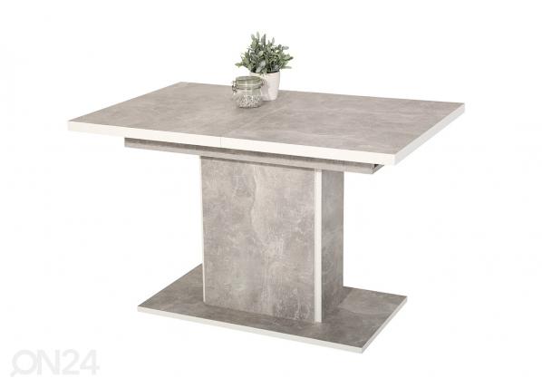 Jatkettava ruokapöytä ALICE 80x120-160 cm