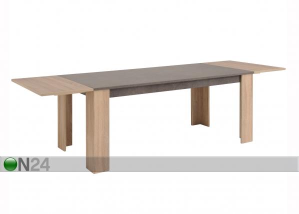 Jatkettava ruokapöytä FUMAY 180-270x88 cm