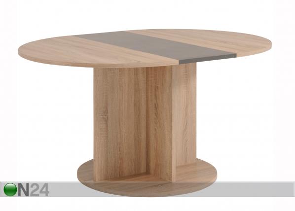 Jatkettava ruokapöytä FUMAY 109-145x109 cm