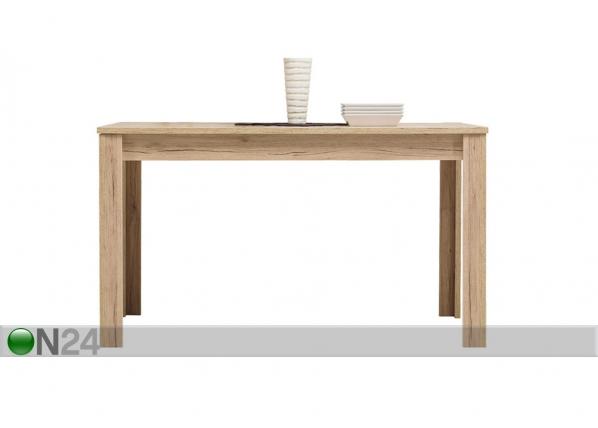 Jatkettava ruokapöytä 90x135-185 cm