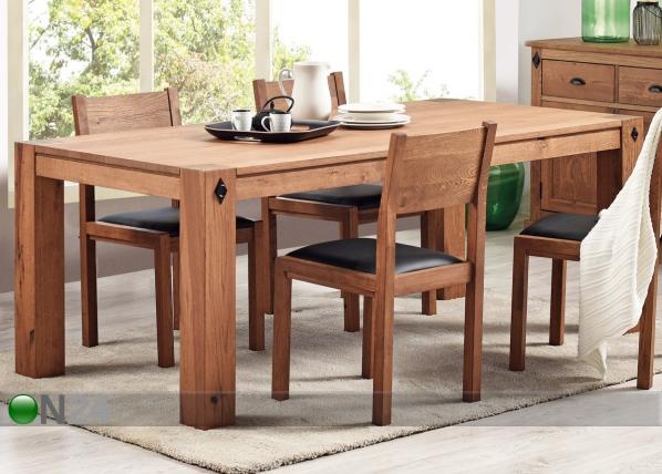 Ruokapöytä EDWARD 200×100 cm
