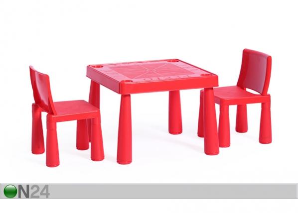 Lasten pöytä ja tuolit