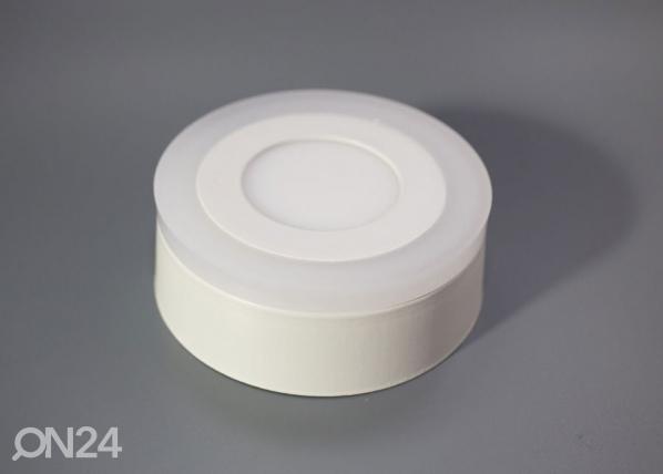 Pintapuolinen paneelivalaisin 12+4 W, Ø19 cm