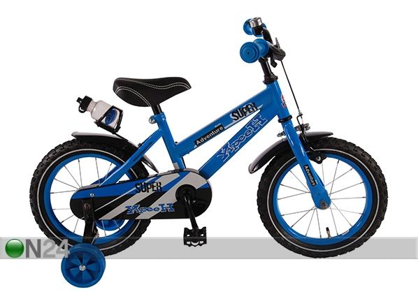 """Poikien polkupyörä YLIPEEH SUPER BLUE 14"""""""