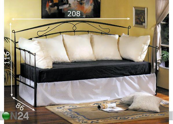 Sohvasänky TIFFANY, 80 cm BL 13255  ON24 Sisustustavaratal