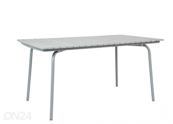Keinopuinen terassipöytä 154x90 cm