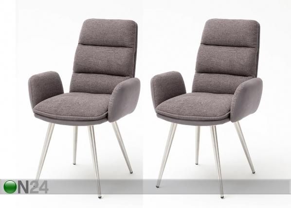 Käsinojalliset tuolit FIDA, 2 kpl