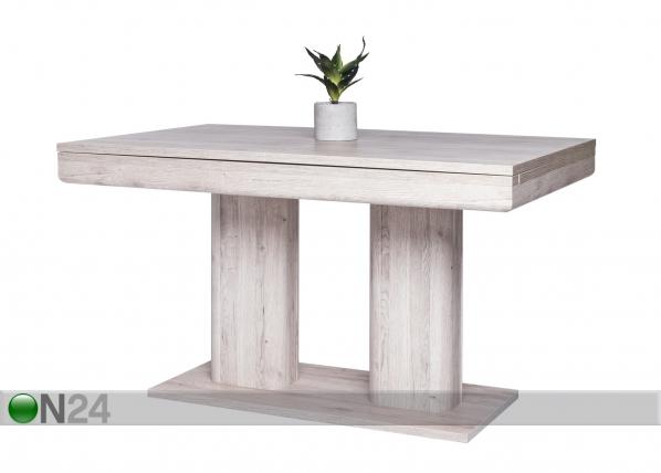 Jatkettava ruokapöytä 140-220x90 cm