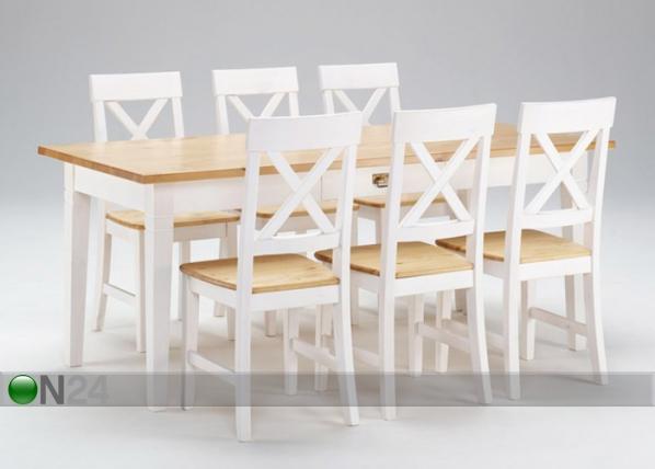 Ruokapöytä MONACO 185x85 cm