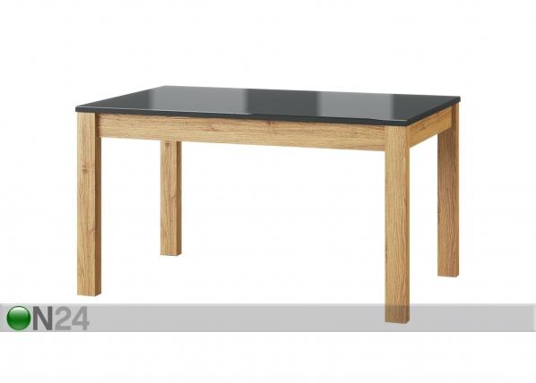 Jatkettava ruokapöytä 136-210 cm