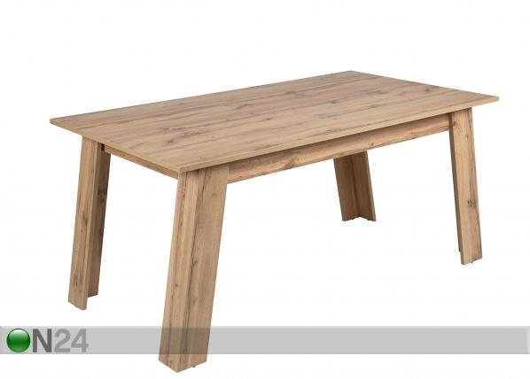Ruokapöytä DORIS 90x160 cm