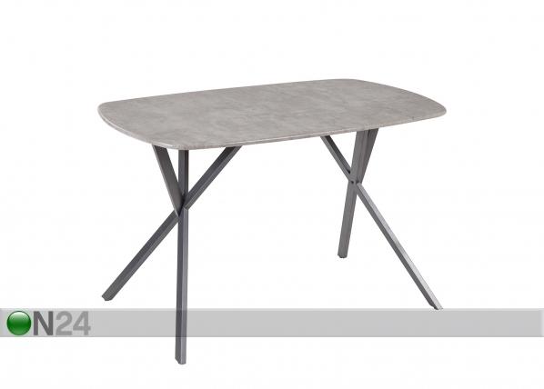 Ruokapöytä SHERRY 75x120 cm