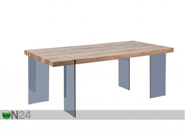 Ruokapöytä TEXAS 90x190 cm