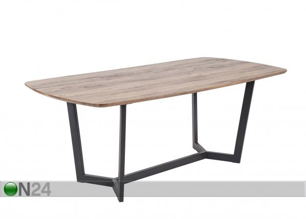 Ruokapöytä KÖLN 100x200 cm