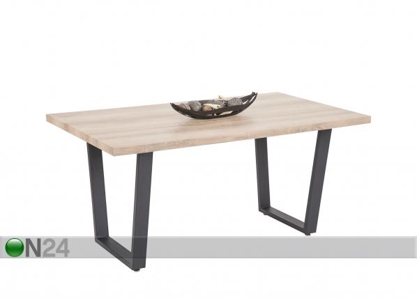 Ruokapöytä JUIST 90x160 cm