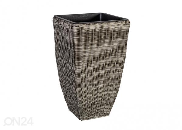 Kukkaruukku WICKER 30x30x51 cm
