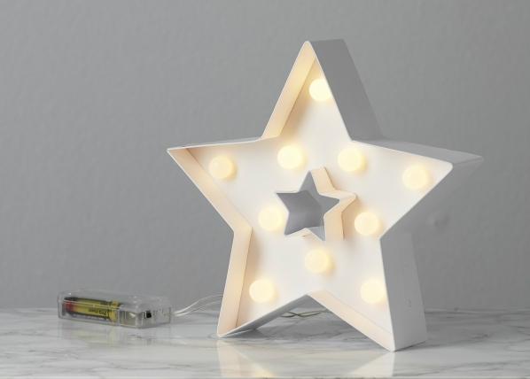 Koristetähti LED