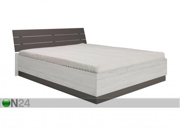 Sänky ylösnostettavalla pohjalla 160x200 cm