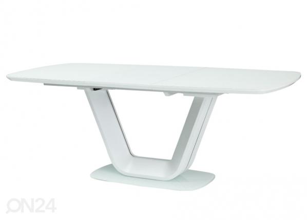 Jatkettava ruokapöytä ARMANI 160-220x90 cm