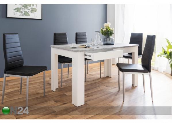 Ruokapöytä 138x80 cm