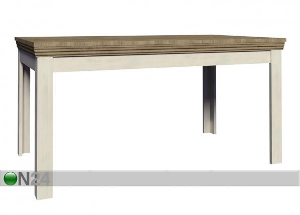 Jatkettava ruokapöytä 90x160-203cm