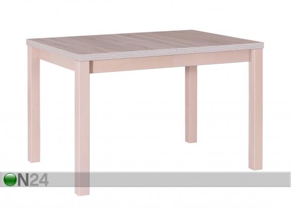 Jatkettava ruokapöytä 120-150x80 cm