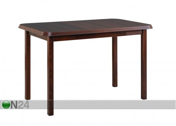 Jatkettava ruokapöytä 120-160x70 cm