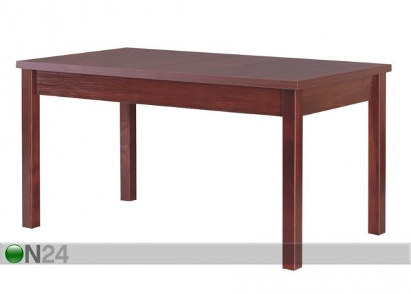 Jatkettava ruokapöytä 160-200x80 cm