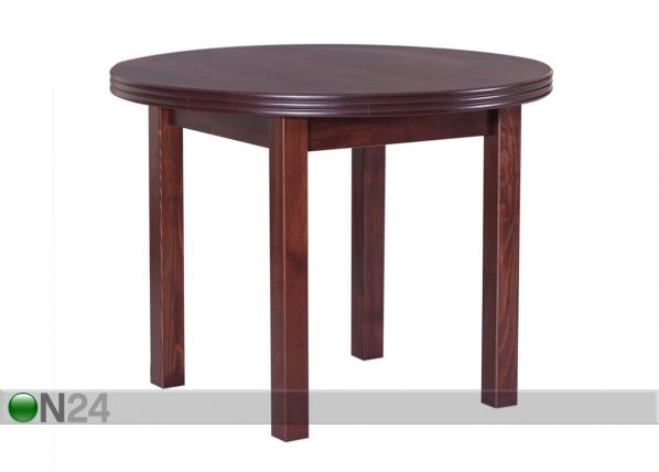 Jatkettava ruokapöytä 100-140x100 cm